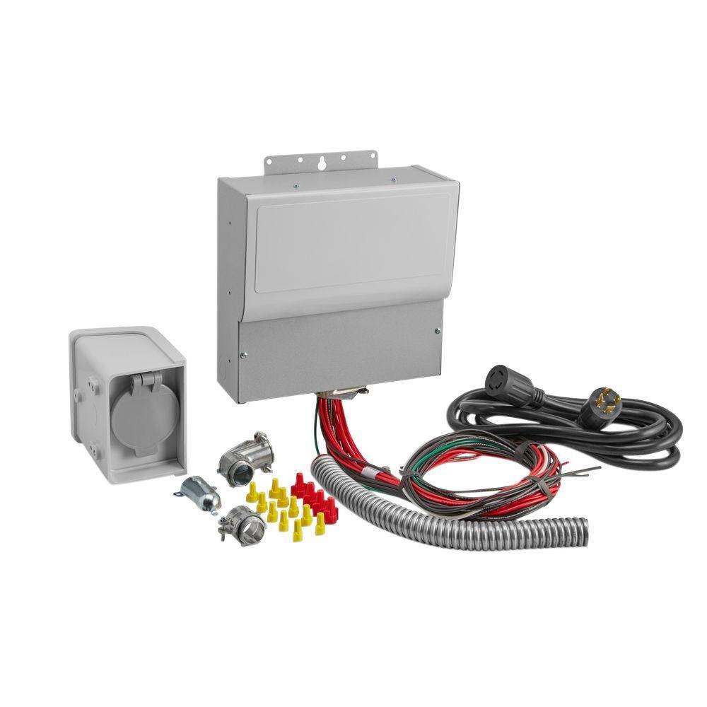 Manual Transfer Switch Kit (10-Circuit)