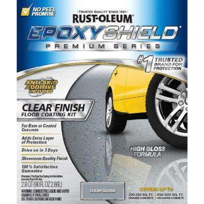 90 oz. Clear High-Gloss Low VOC Premium Garage Floor Kit (2-Pack)