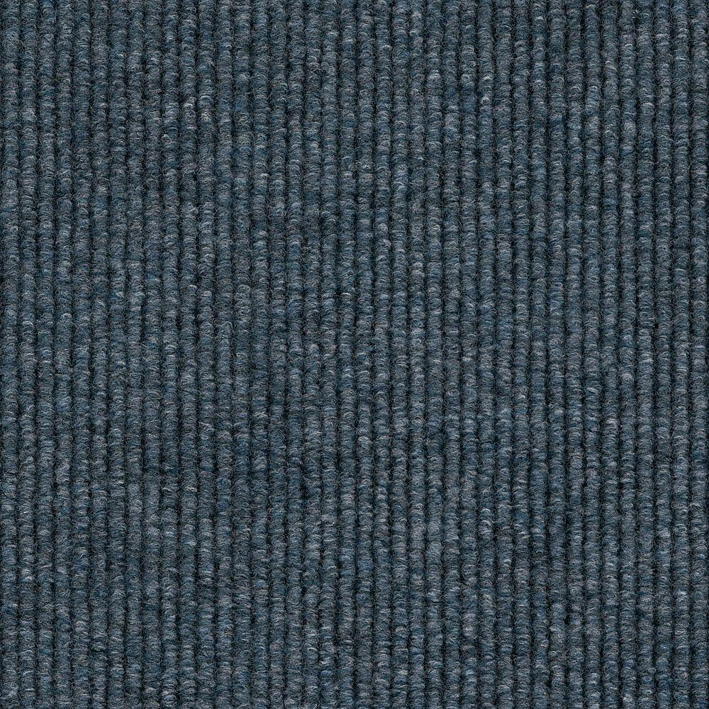 Shaw Living Berber Ocean Blue 12 in. x 12 in. Carpet Tiles (20-case)-DISCONTINUED
