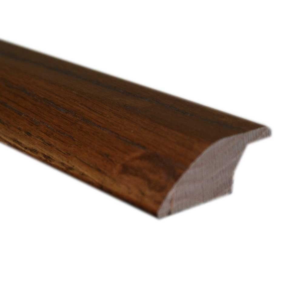 Maple Chocolate 3/4 in. Thick x 2-1/4 in. Wide x 78 in. Length Hardwood Lipover Reducer Molding