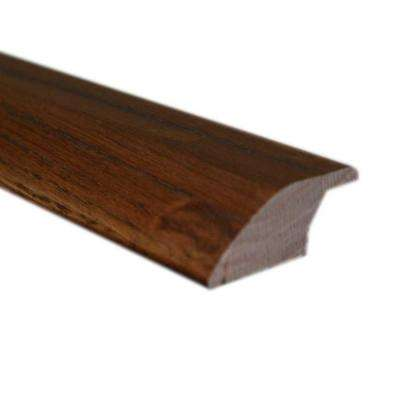 Handscraped Maple Chocolate 3/4 in. Thick x 2-1/4 in. Wide x 78 in. Length Lipover Reducer Molding