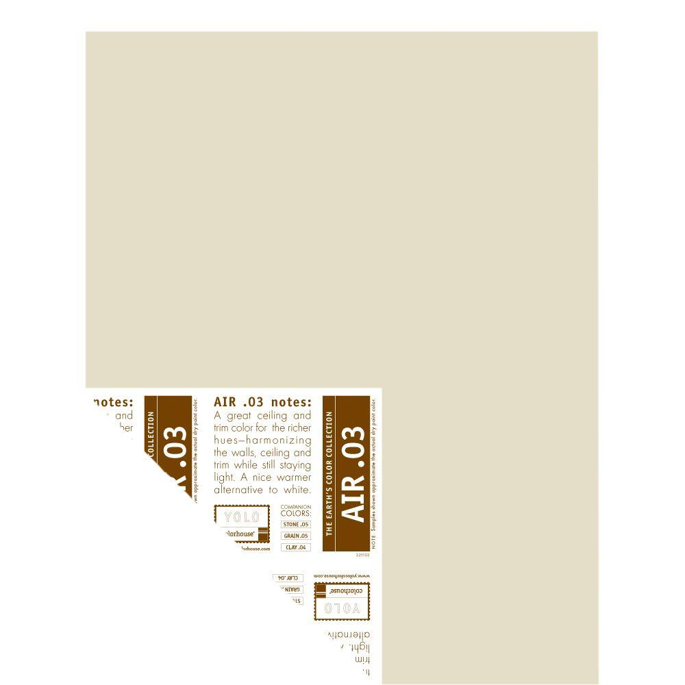 YOLO Colorhouse 12 in. x 16 in. Air .03 Pre-Painted Big Chip Sample