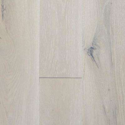 Castlebury French Linen Eurosawn Oak 3/8 in. T x 6 in. W x Random Length Click Eng Hardwood Flooring (30.5 sq. ft./case)
