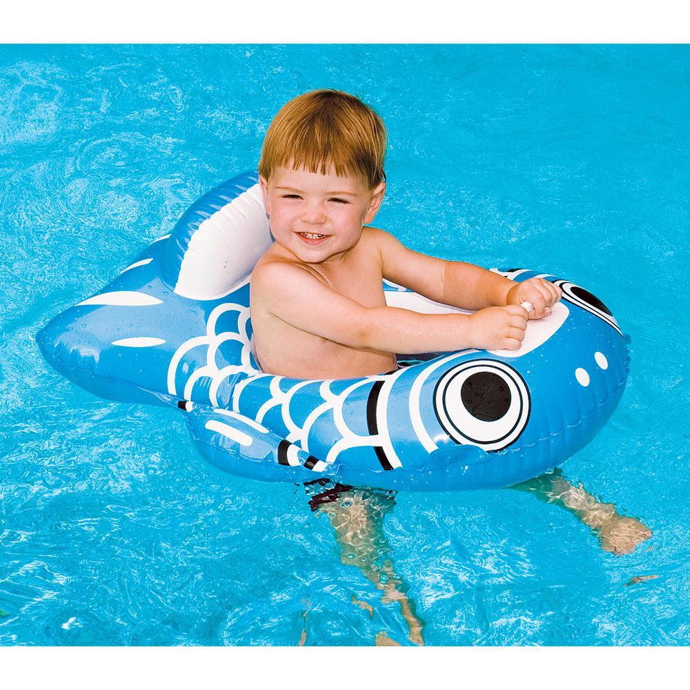 Swimline 32 in. Assorted Guppy Baby Seat Pool Float