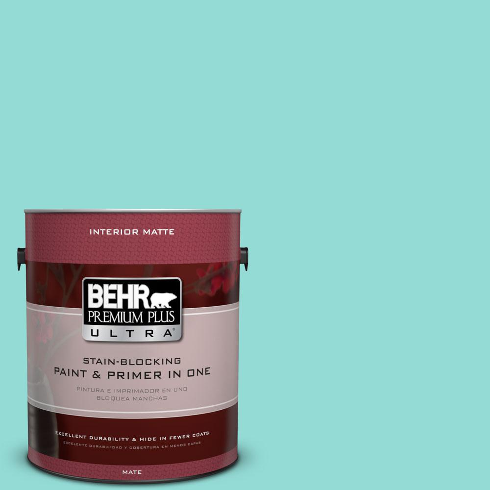 1 gal. #490A-3 Sweet Rhapsody Matte Interior Paint and Primer in