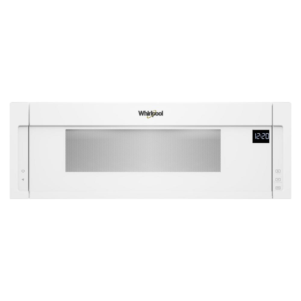 This Review Is From 1 Cu Ft Over The Range Low Profile Microwave Hood Combination In White