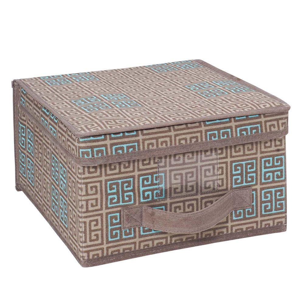 Seda France Polypropylene Medium Storage Box in Cameo Key Taupe