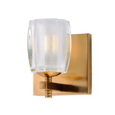 Bravado 4.75 in. Wide Golden Bronze Sconce