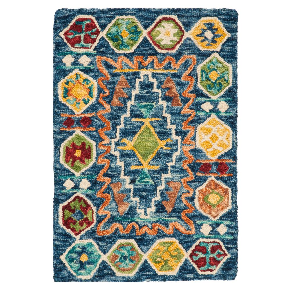 Safavieh Aspen Navy Gold 2 Ft X 3 Area Rug