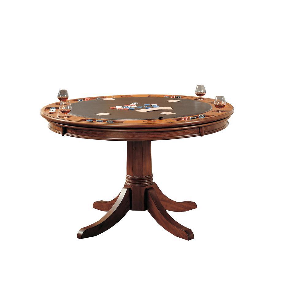 Park View Game Table in Medium Brown Oak