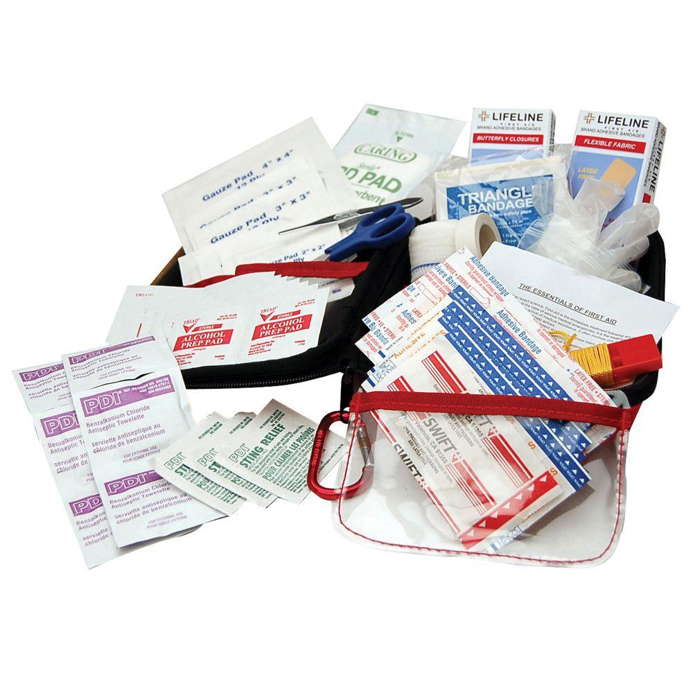 Emergency Commuter First Aid Kit 85-Piece