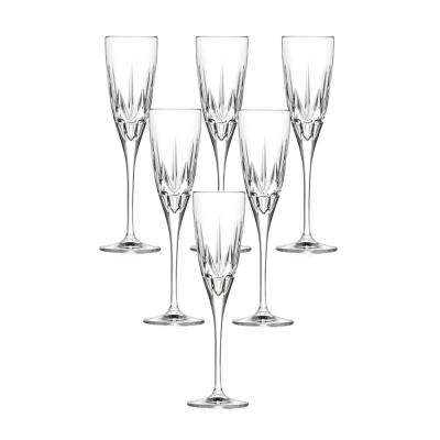Chic Flute Goblets By Lorren Home Trends (Set of 6)