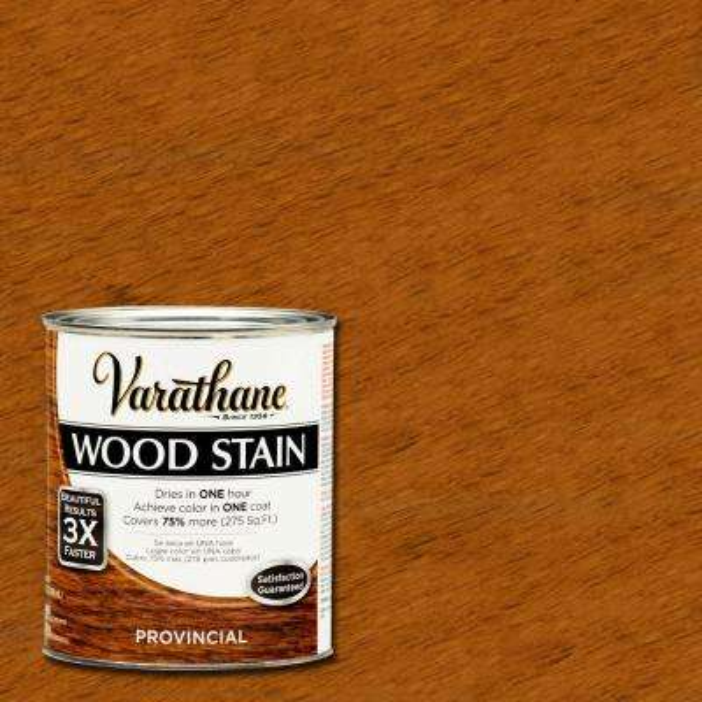 1 qt. 3X Provincial Premium Wood Stain (Case of 2)
