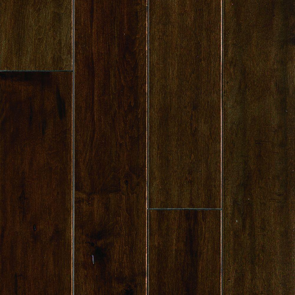 Price Of Maple Hardwood Flooring: Mohawk Mocha Maple 1/2 In. Thick X 5 In. Wide X Random