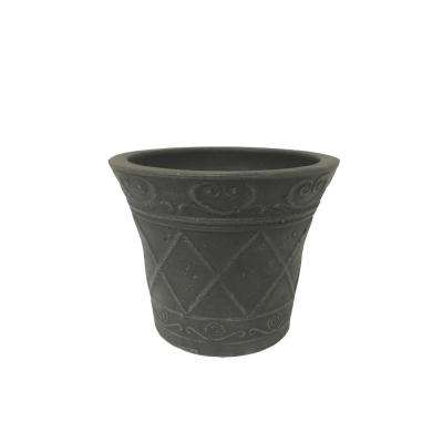 Scroll Grower 5 in. x 4 in. Dark Charcoal PSW Pot
