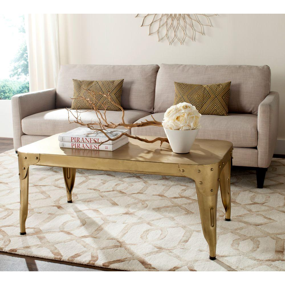 Classic Gold Coffee Table