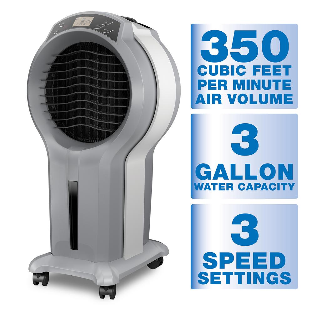 Arctic Cove 350 CFM 3 Speed Portable Evaporative Cooler for 175 sq. ft.