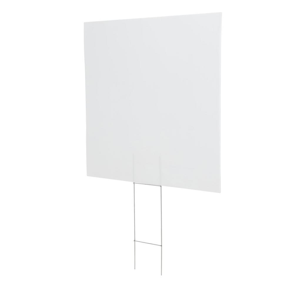 Corrugated Plastic Blank Sign 31394