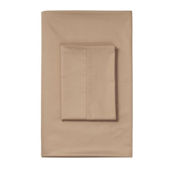 The Company Store Cafe 450 Thread Count Deep Pocket Sateen California King Fitted Sheet
