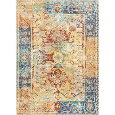 Delmar Cream 9 ft. 10 in. x 13 ft. 2 in. Area Rug