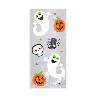 11.5 in. x 5 in. x 3.25 in. Halloween Cello Bag (20-Count, 5-Pack)