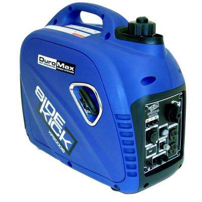 2000-Watt/1600-Watt Super Quite Gasoline Powered Portable Generator Inverter with Parallel Capability