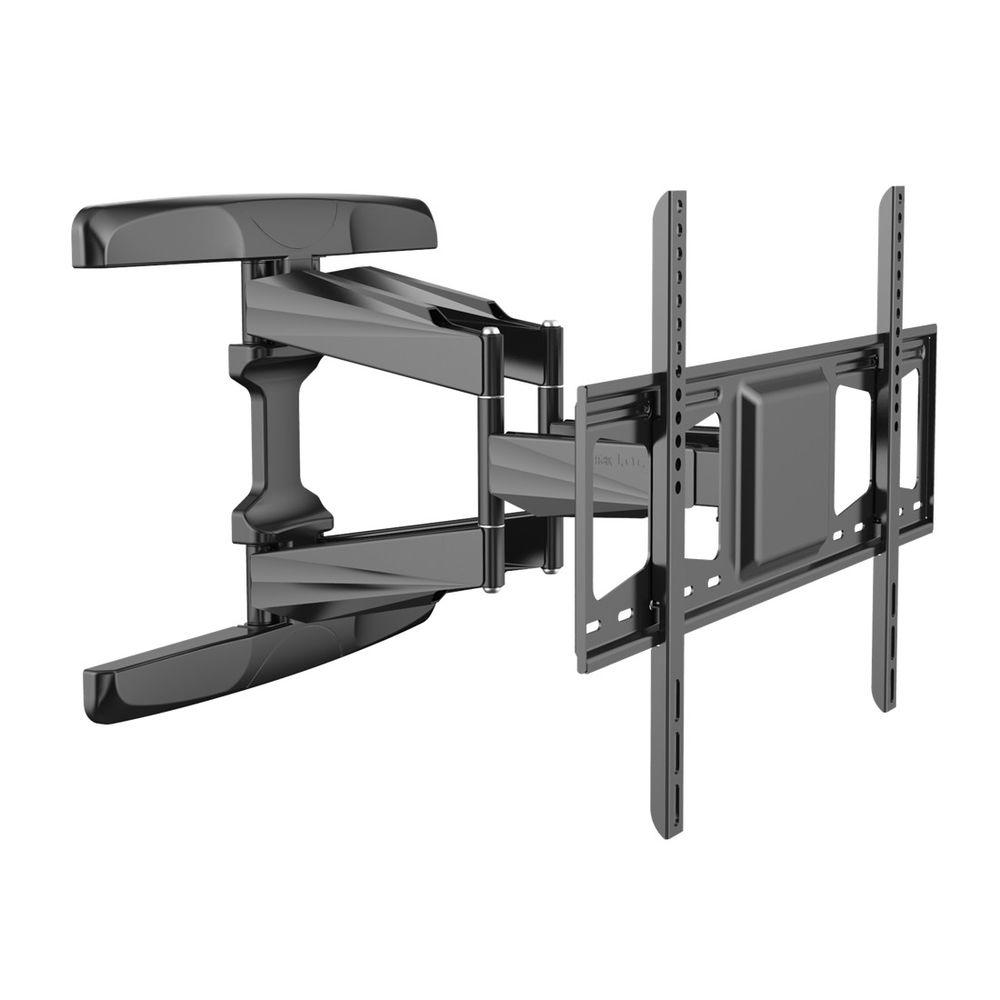 loctek full motion tv wall mount articulating tv bracket fits for 42 in 70 in tvs up to 99. Black Bedroom Furniture Sets. Home Design Ideas