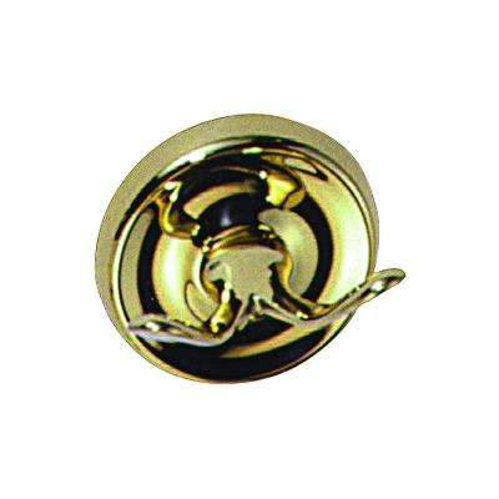 Single Robe Hook in Polished Brass