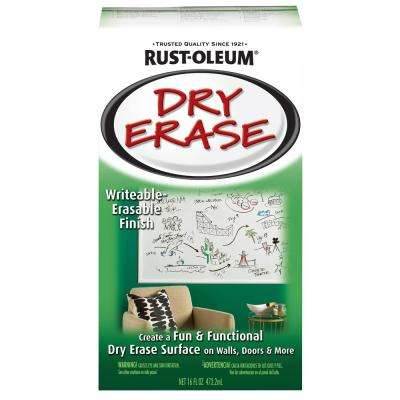 16 oz. Gloss White Dry Erase Kit