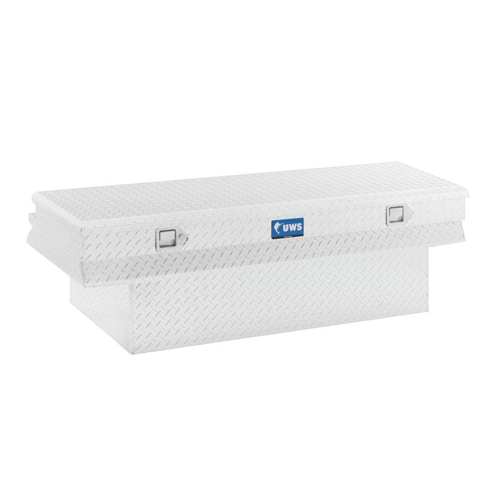 UWS 36 in. Aluminum Chest Box Combo for 50-Gal. L Tank