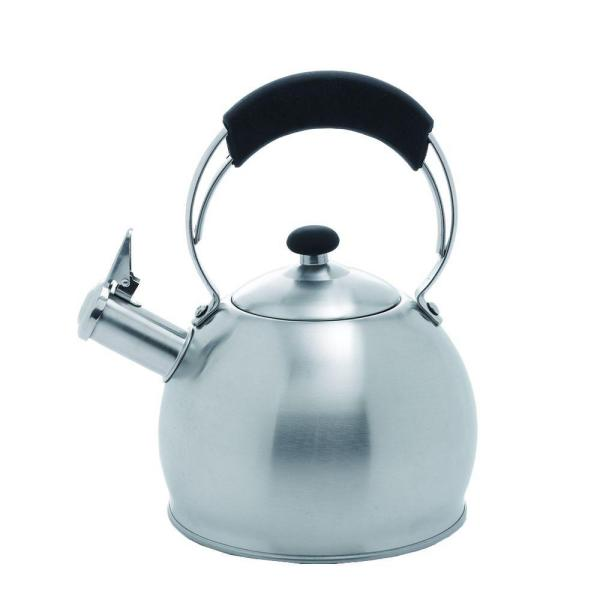 Creative Home Galaxy 10.4-Cup Stovetop Tea Kettle in Silver 72221