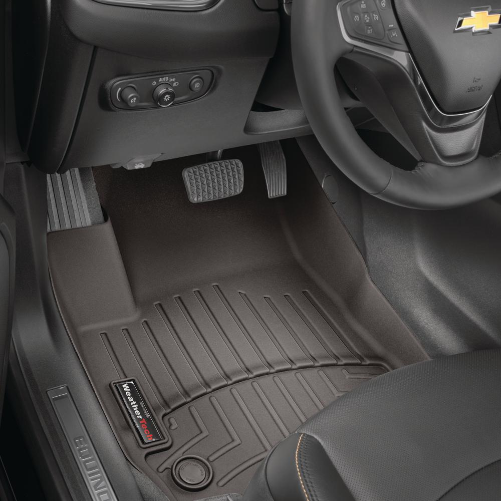 WeatherTech Custom Fit Front FloorLiner for Select Dodge Ram Models Black