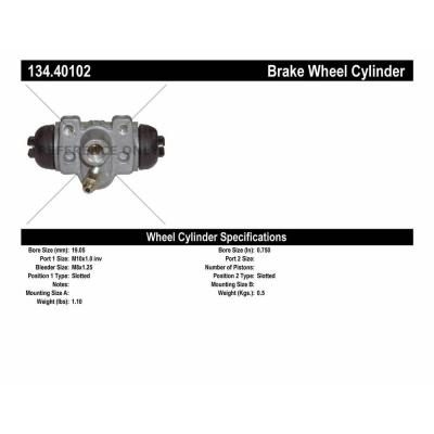 Front Left Dynamic Friction Company Brake Wheel Cylinder 375-47032