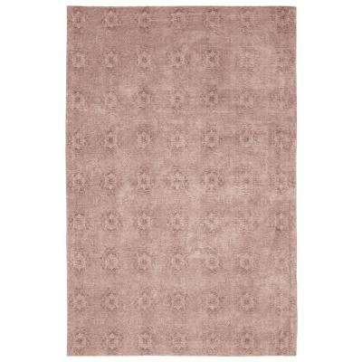 Fontayne Vintage Jacquard 30 in. x 50 in. Accent Rug, Blush