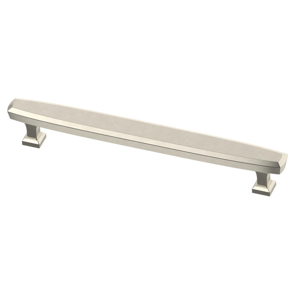 Beveled 6-5/16 in. (160mm) Polished Nickel Drawer Pull