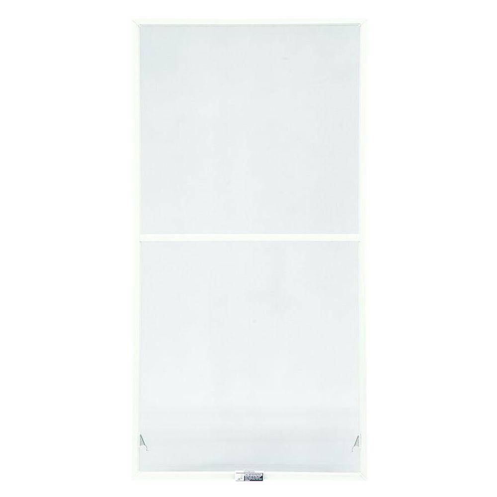 TruScene 35-7/8 in. x 62-27/32 in. White Double-Hung Insect Screen