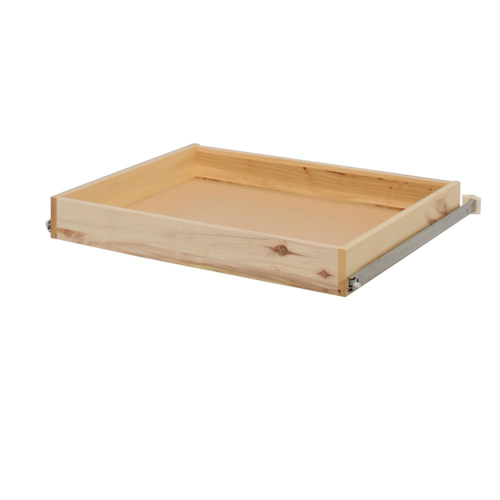 Hampton bay 26 3 in x 4 in x 22 8 in pull out drawer for Hampton bay cabinet accessories