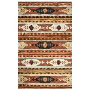 Rizzy Home Southwest Brown 2 ft. x 3 ft. Accent Rug by Rizzy Home