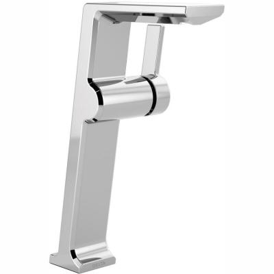 Pivotal Single Hole Single-Handle Vessel Bathroom Faucet in Chrome