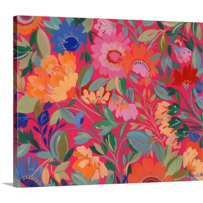 "24 in. x 20 in. ""Mexican Garden"" by Kim Parker Canvas Wall Art"