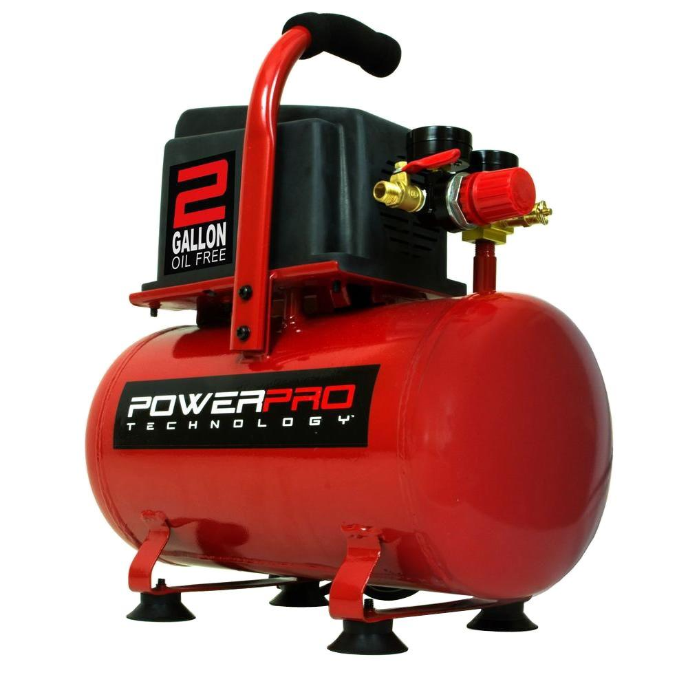 Pro Technology 2 Gal Portable Electric Air Compressor