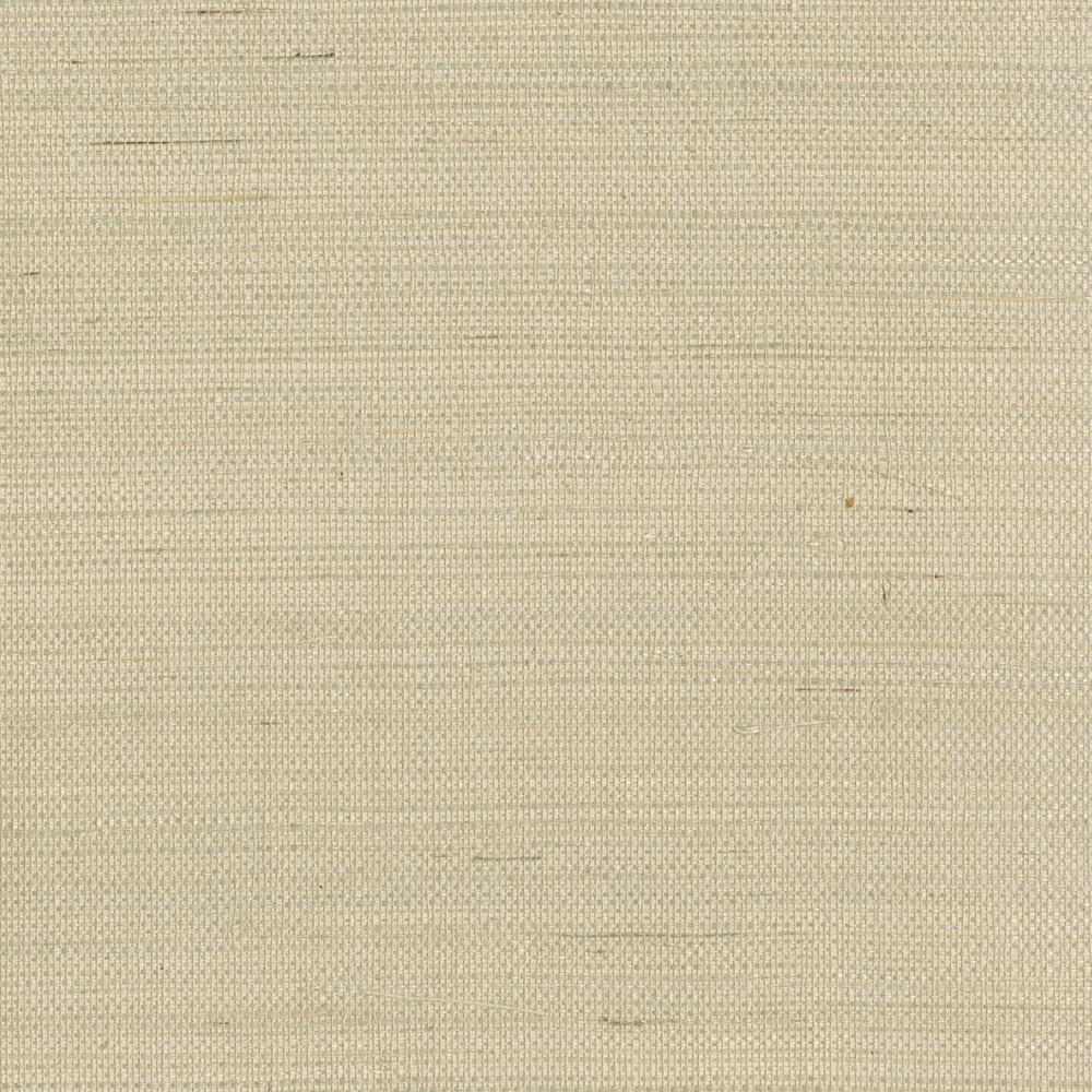 Han Me Champagne Grasscloth Wallpaper Sample