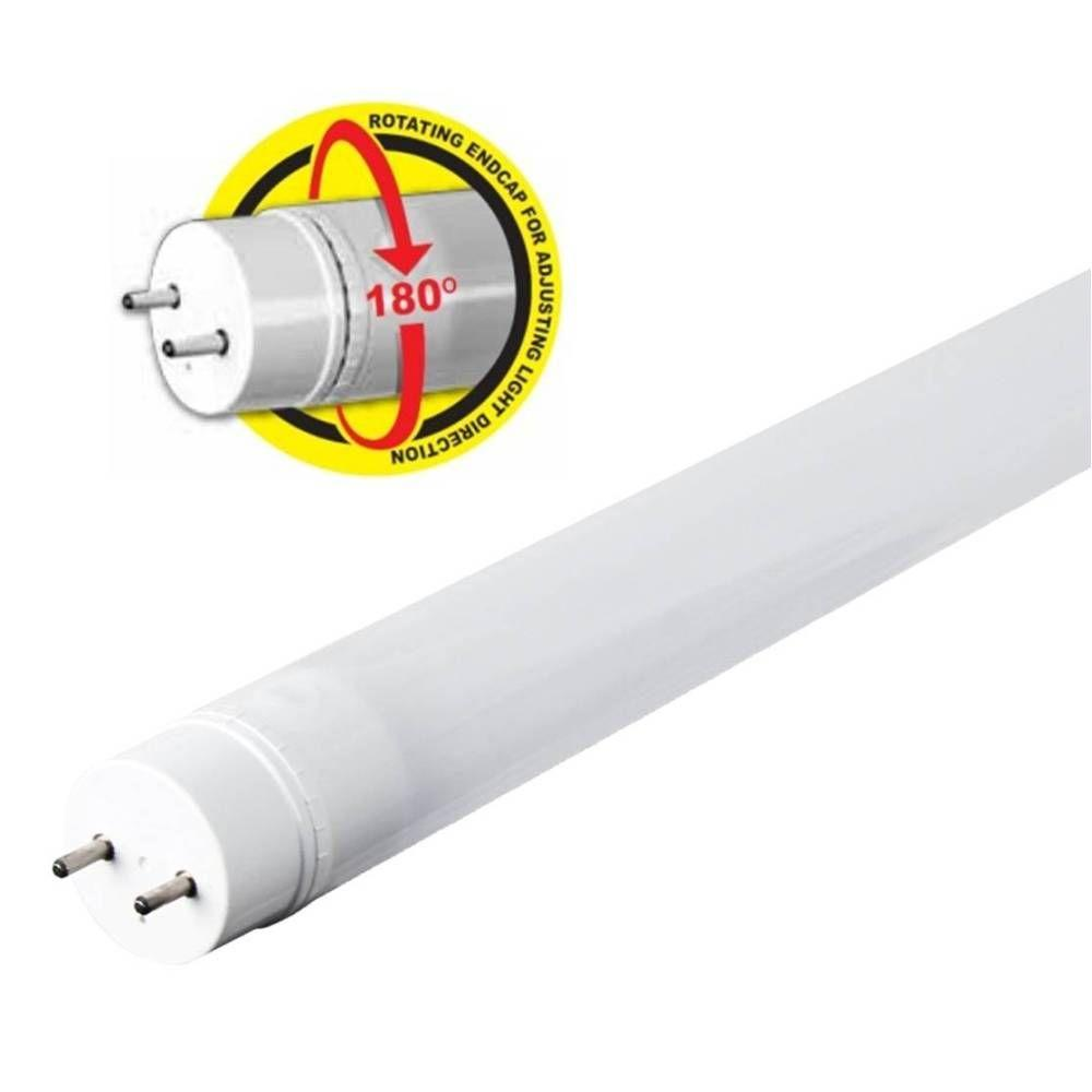 feit electric 4 ft t8 t12 17 watt cool white linear led light bulb rh homedepot com LED Light Whip LED Light Whip