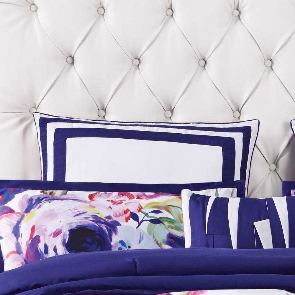 Garden Bloom Blue European Sham