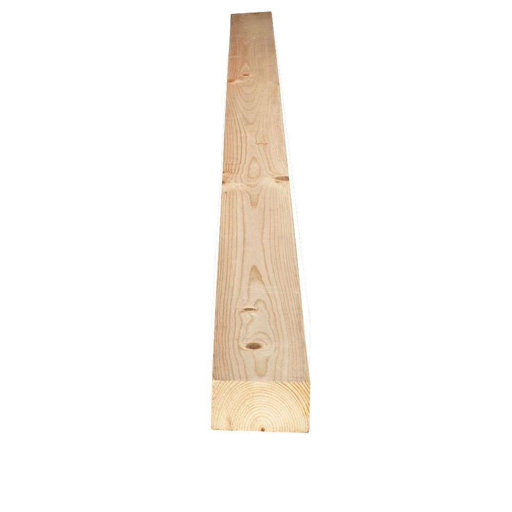 1 in  x 4 in  x 16 ft  #2 and Better Kiln Dried Heat-Treated Engelmann  Spruce Lodgepole Pine Board