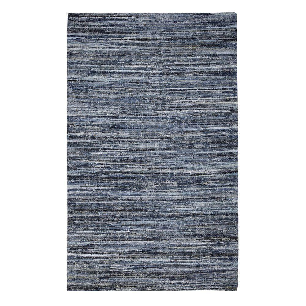 Home Decorators Collection Denim Natural Blue 4 ft. x 6 ft. Area Rug
