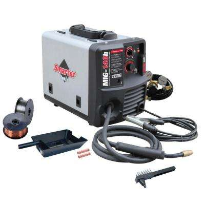 120-Volt Solid Wire and Flux-Cored Welder