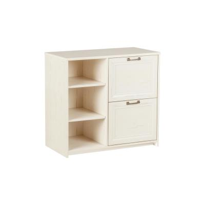 Graham Antique White Lateral File Cabinet