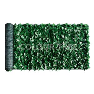 3 ft. x 10 ft. Faux Ivy Leaf Vines Indoor/Outdoor Privacy Fencing Roll