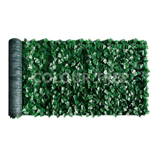 59 in. x 158 in. Faux Ivy Leaf Vines Indoor/Outdoor Privacy Fencing Roll